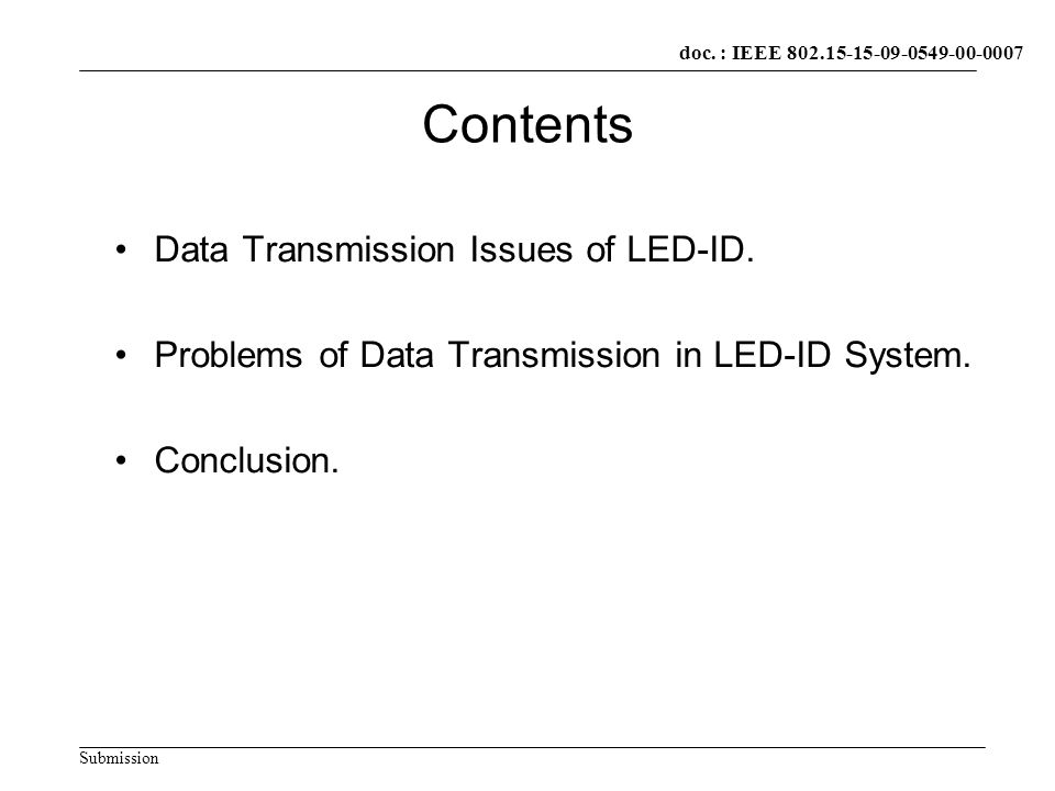 doc.: IEEE xxxxx Submission doc.