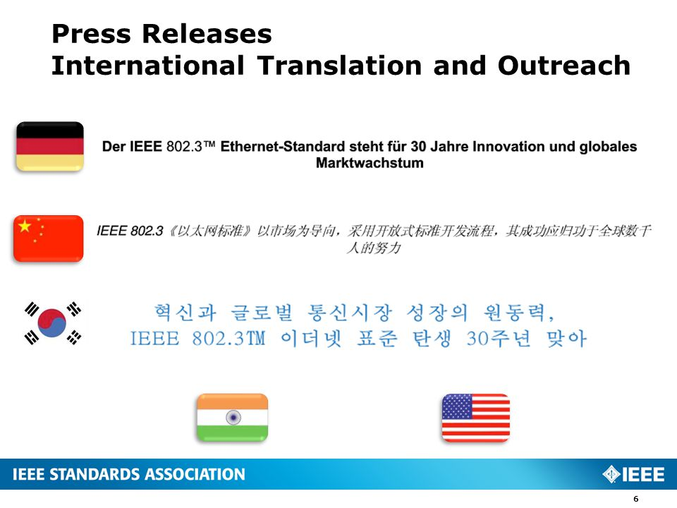 Press Releases International Translation and Outreach 6