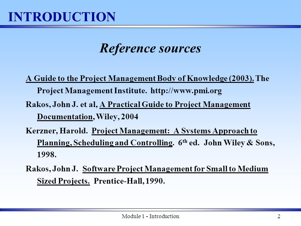 Module 1 - Introduction23 Estimating – use of History Ratios for Systems project SYSTEMS ACTIVITIESDUR EFFORT SYSTEM SPECIFICATIONS11-15%6-10% SYSTEM DESIGN8-12%6-10% SOFTWARE REQUREMENTS2-4%3-5% SOFTWARE PRELIMINARY DESIGN5-7%4-6% SOFTWARE DETAILED DESIGN8-11%9-12% CODE AND UNIT TEST20-28%24-32% SOFTWARE INTEGRATION & TEST10-14%11-15% SOFTWARE QUALIFICATION5-7%2-4% SYTEM INTEGRATION & QUAL.