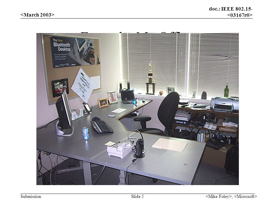 doc.: IEEE 802.15- Submission, Slide 6 Example: My Computer Before After