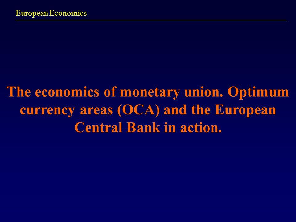 The economics of monetary union.