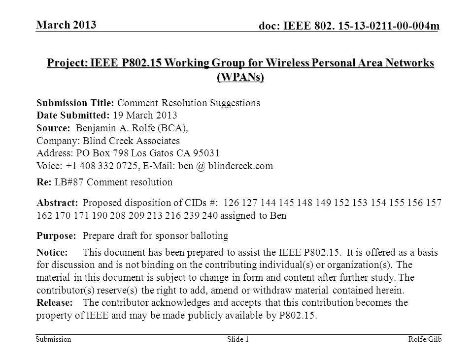 Submission doc: IEEE 802.