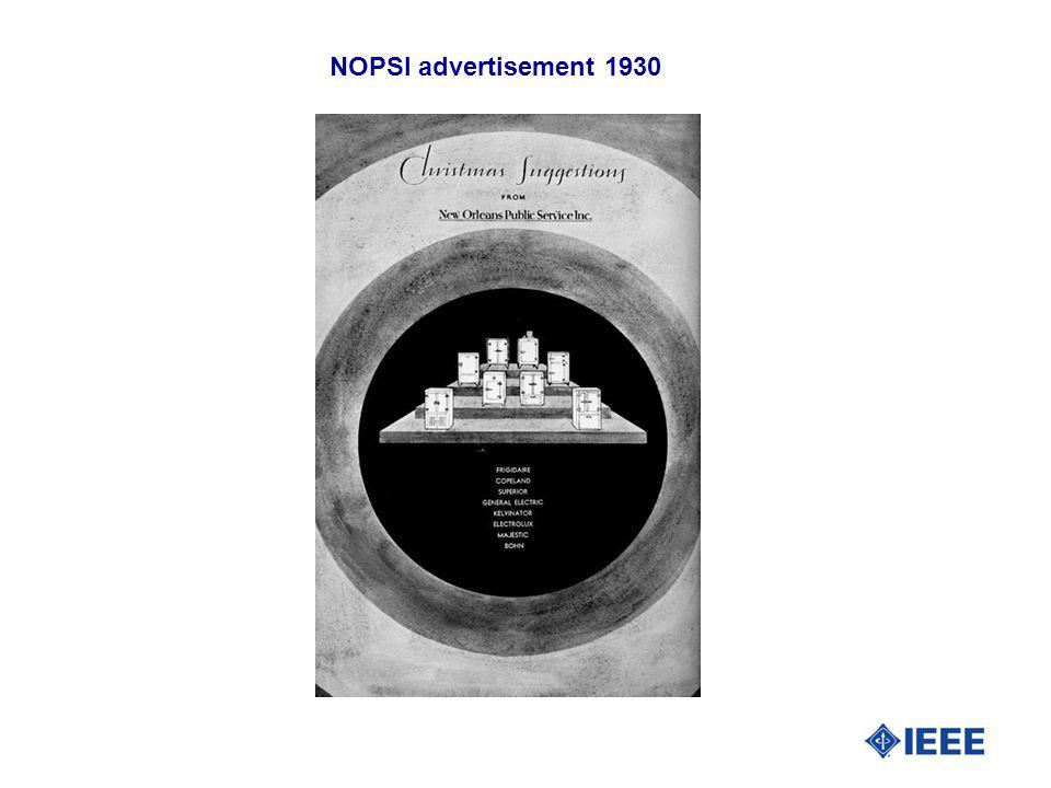 NOPSI advertisement 1930