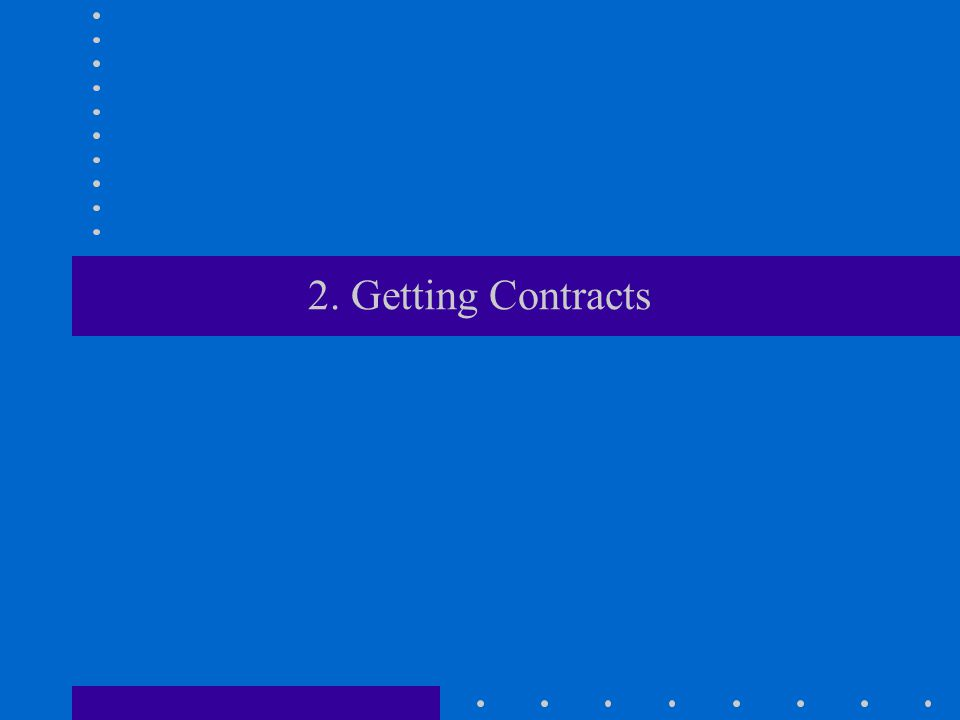 2. Getting Contracts