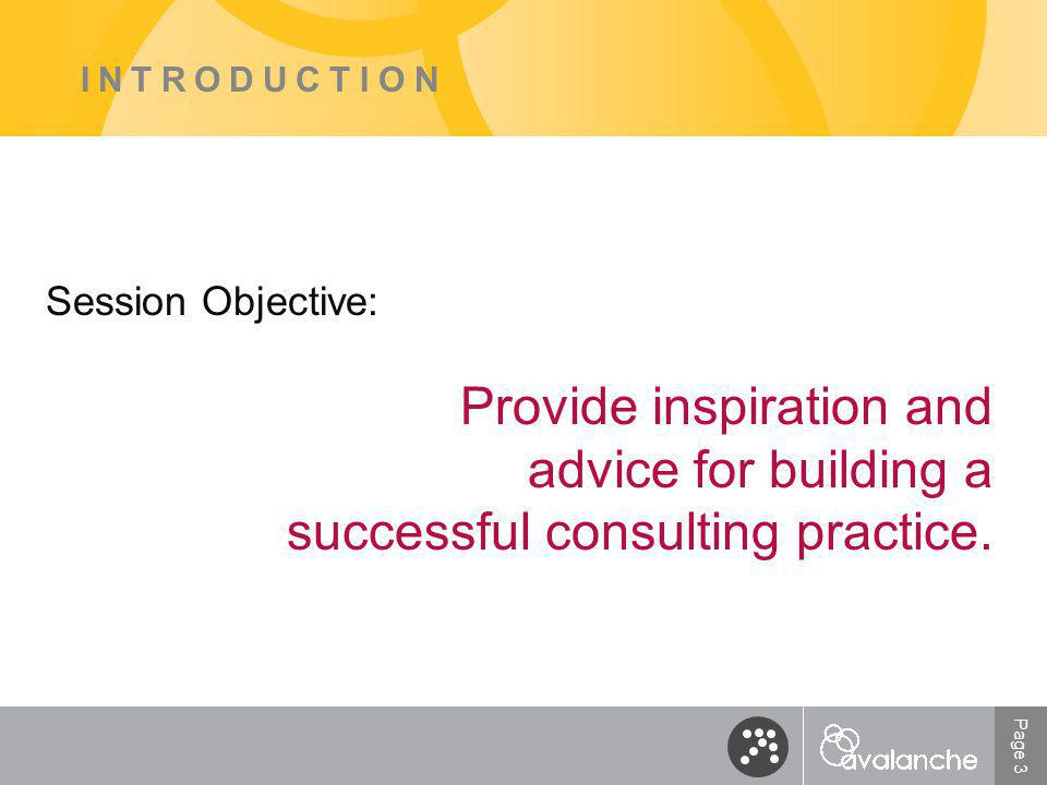 Page 14 MOTIVATION What are your concerns about starting your own consulting practice?