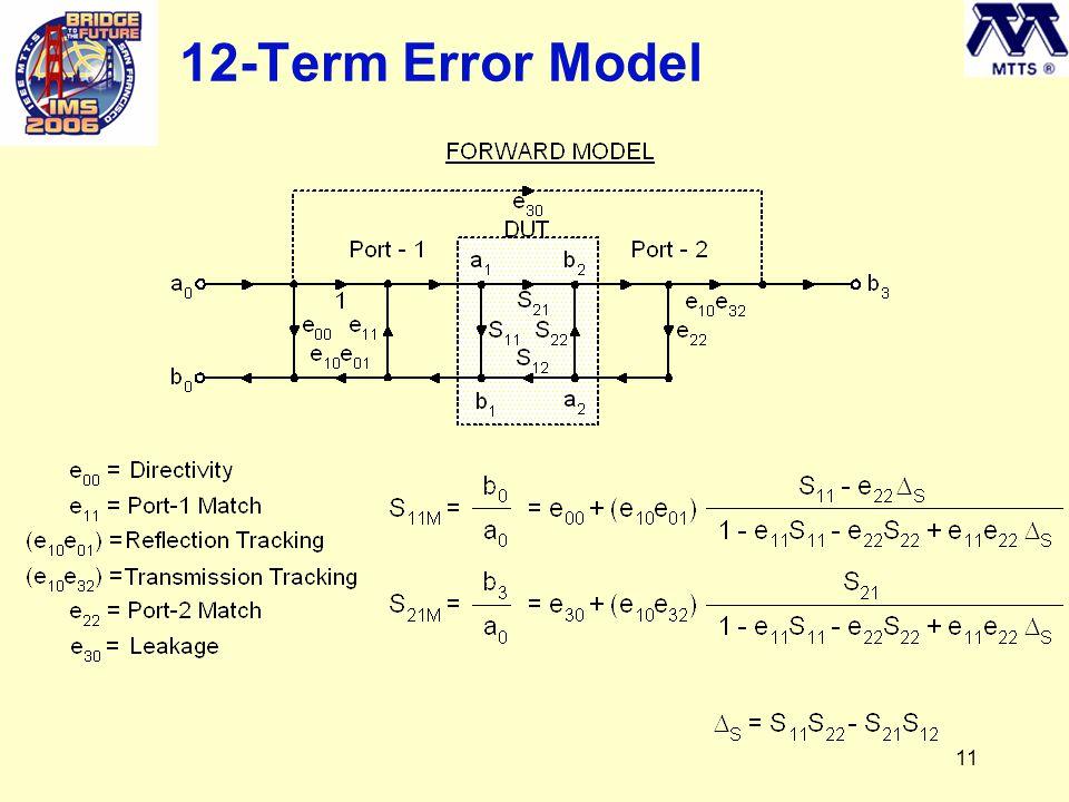 11 12-Term Error Model