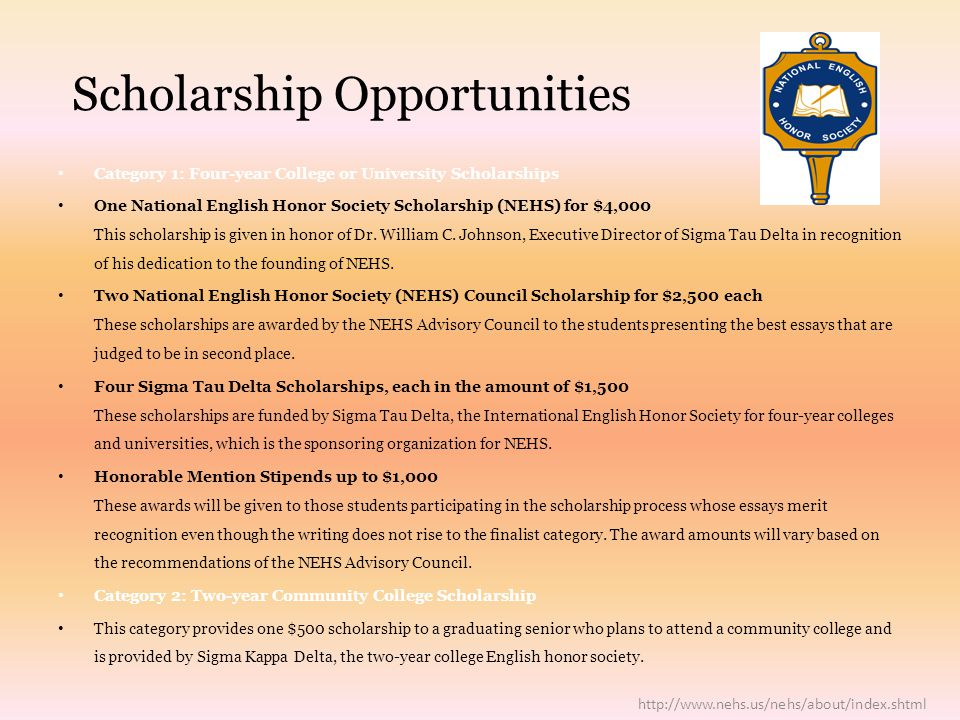 National English Honor Society  We have many exciting opportunities already in the works for this Spring!!