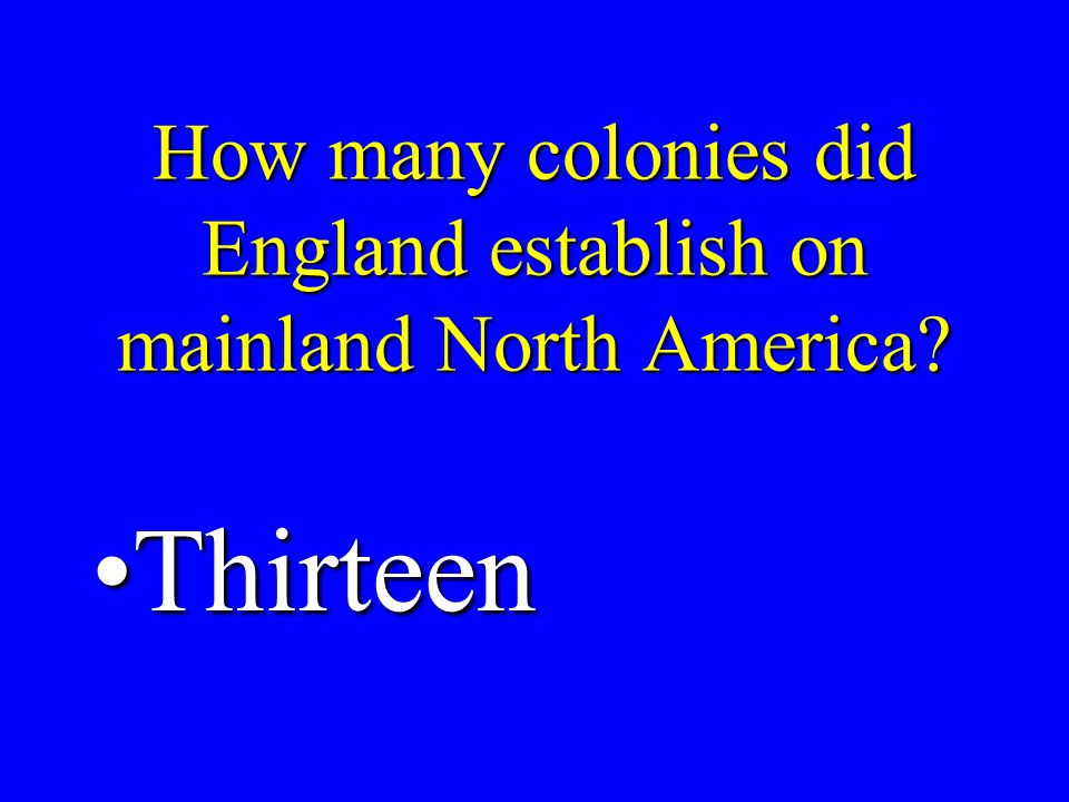 What did the Proclamation of 1763 do.