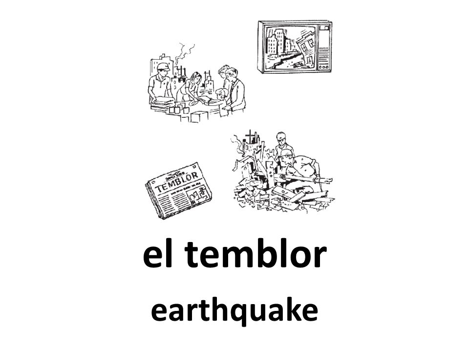 el temblor earthquake