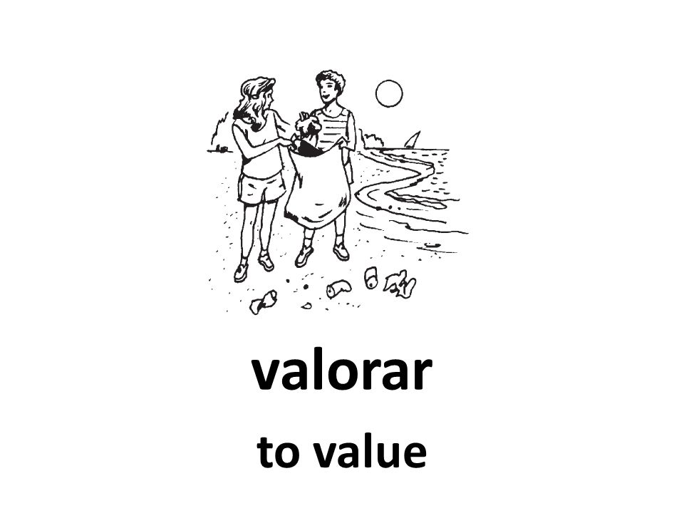 valorar to value