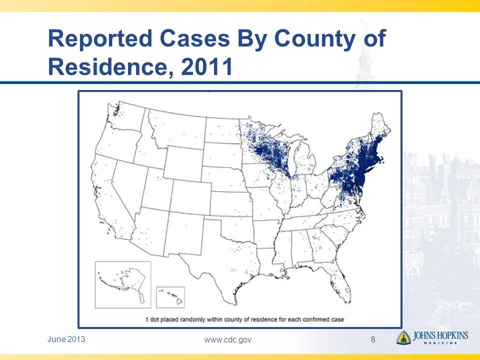 Notifiable Diseases U.S.2010 DiseaseReported Cases 1.