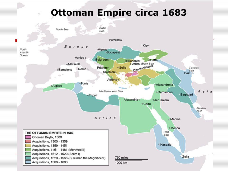 Ottoman Empire circa 1683