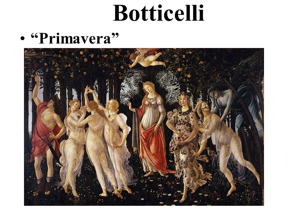 "Botticelli ""Birth of Venus"""