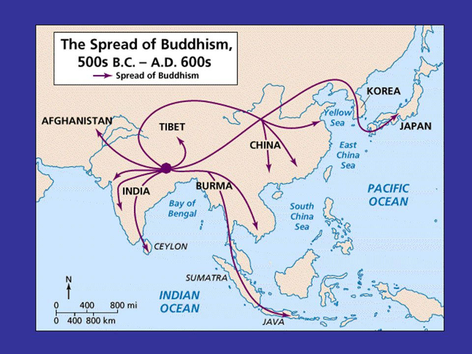 "Buddhism D. Customs: –No formal places of worship –Individual religion –More ""open"" and accepting of all humans regardless of social position –*equal"