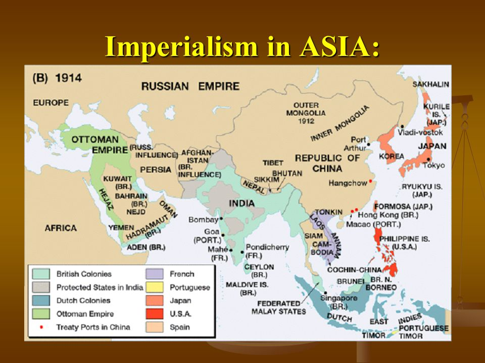 Imperialism in ASIA: