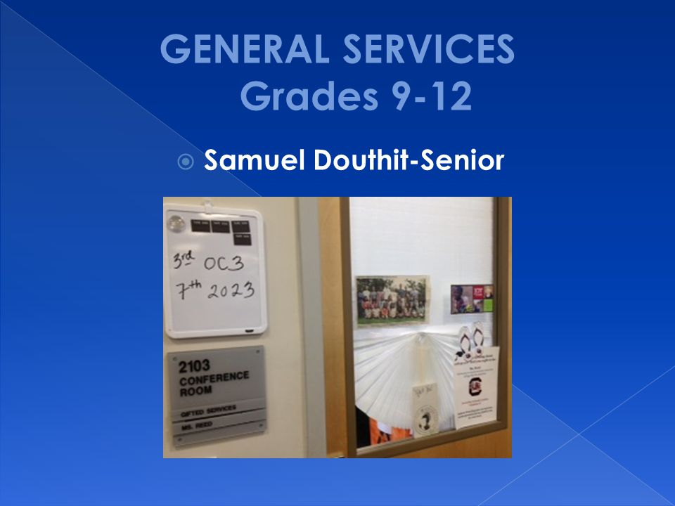  Samuel Douthit-Senior