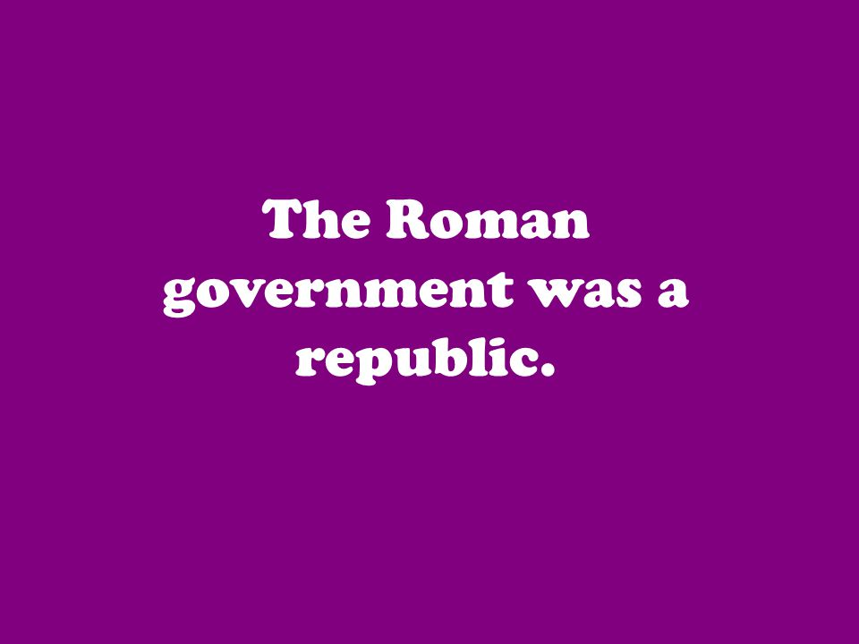 They supervised the Senate and ordered the Roman army during wars.