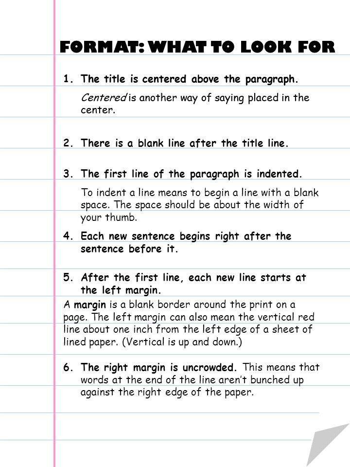 The Paragraph Book First 9 Weeks Writing the How-to Paragraph. - ppt ...