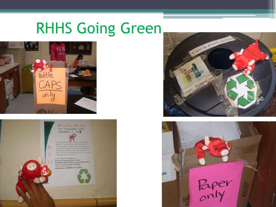 RHHS Going Green