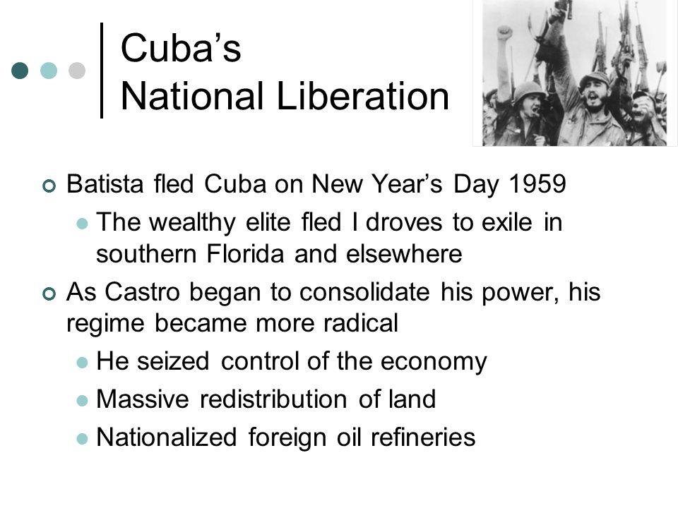 U.S.versus Cuba Outraged, the U.S.
