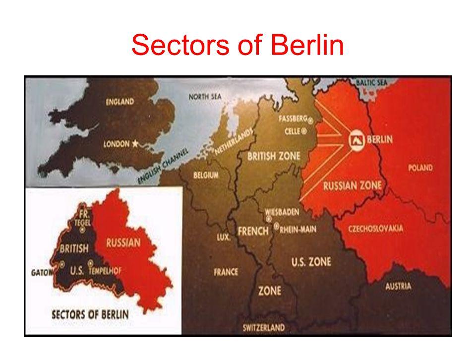 Sectors of Berlin
