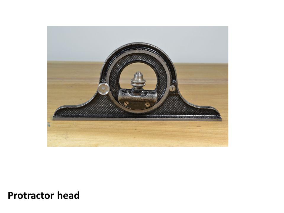 Protractor head