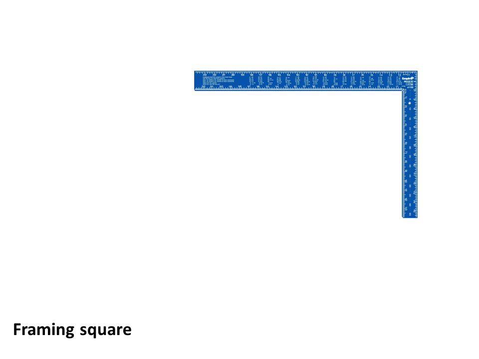 Framing square