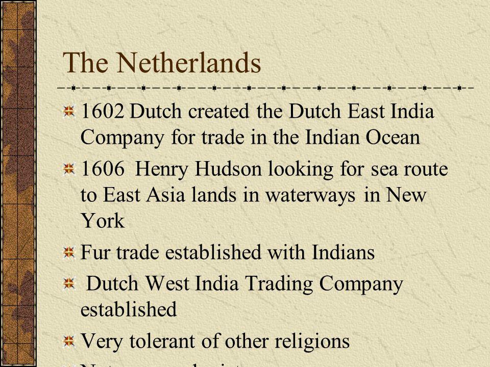 Caribbean French took Haiti, Guadelopue, and Martinique English took Barbados and Jamaica Dutch got Aruba