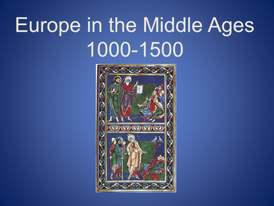 The Revival of Trade Medieval Europe was a mostly agrarian society, but during the eleventh and twelfth centuries Europe experienced a growth in towns and cities.