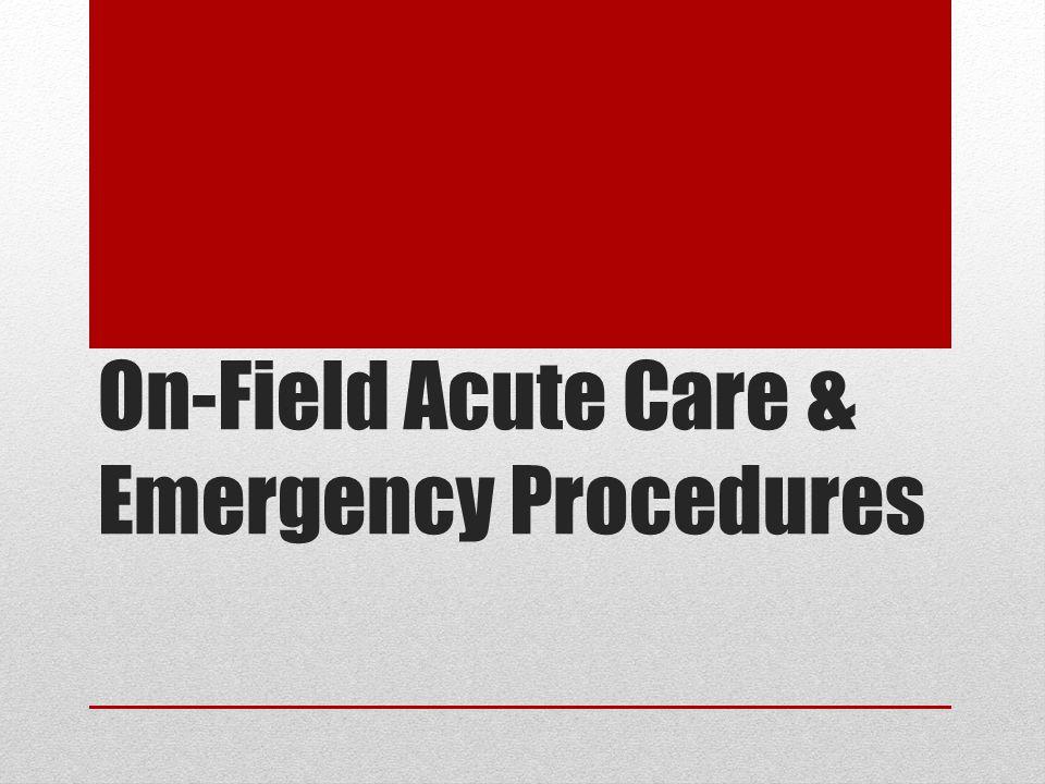 Primary Survey - Excess Bleeding External Bleeding Direct Pressure Elevation Pressure Points