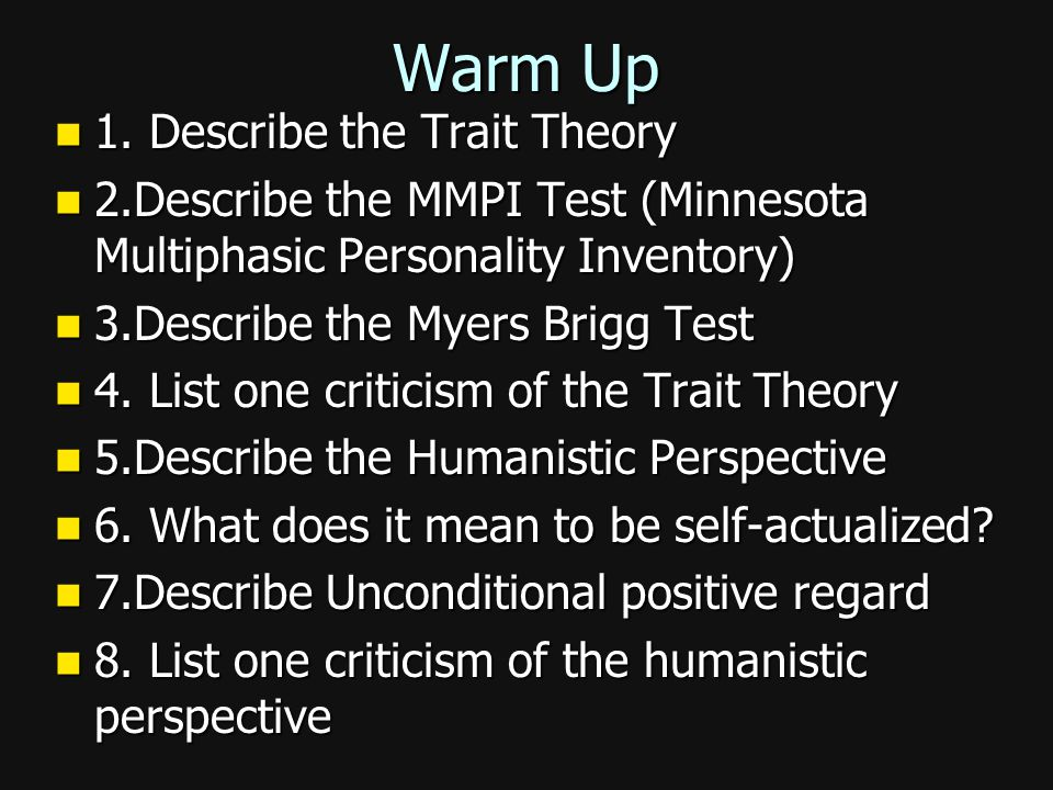 Criticism of Humanist Perspective Maslow's concepts are vague and might just be his own values. Maslow's concepts are vague and might just be his own