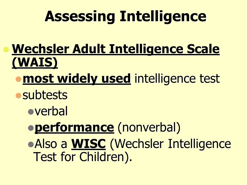 Assessing Intelligence: Aptitude vs. Achievement Test Aptitude Tests: are tests designed to predict a person's future performance. Aptitude Tests: are