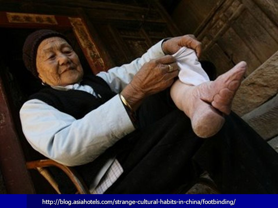 http://blog.asiahotels.com/strange-cultural-habits-in-china/footbinding/