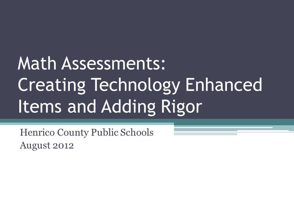 Let's Make Some Assessments! 53