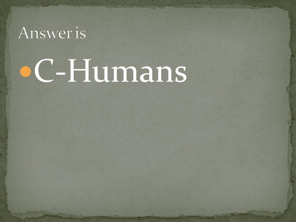 C-Humans