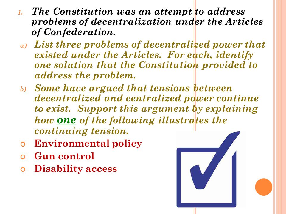 20.The Framers of the Constitution created a federal system of government.