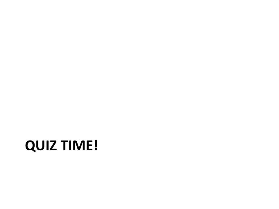 Agenda Quiz Guidance Overview of Period 1