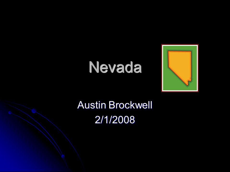 Nevada Austin Brockwell 2/1/2008
