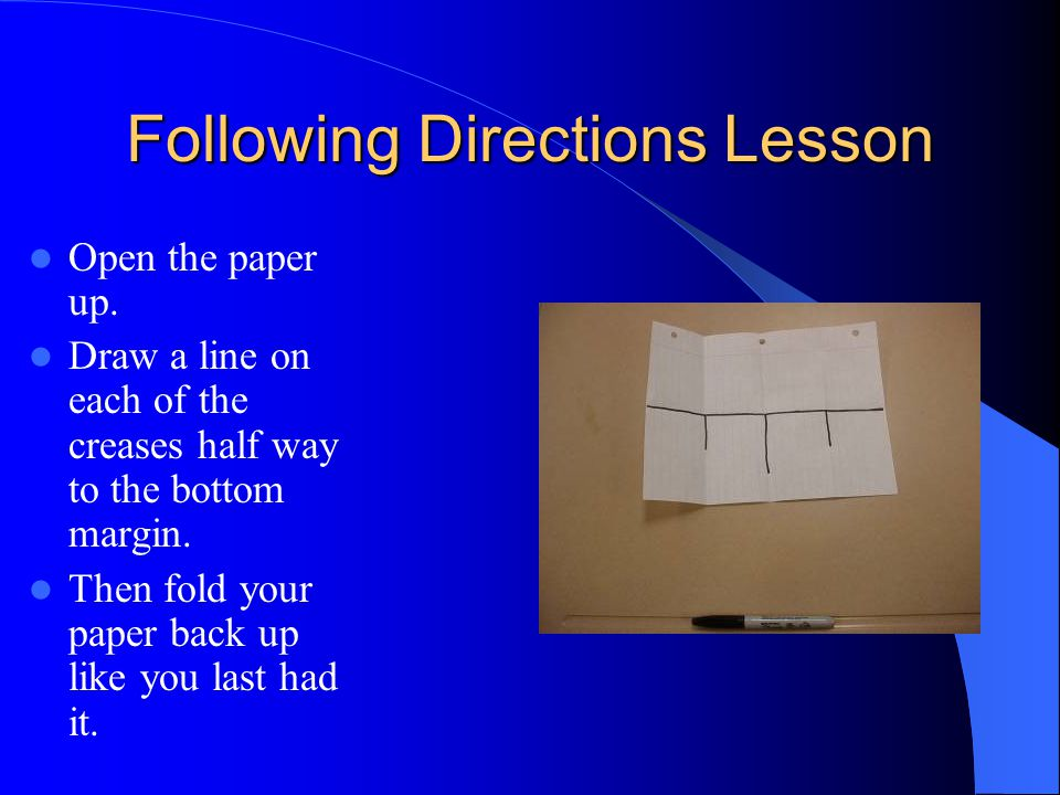 Fold the paper over one more time in the same direction as your last fold, making it even more slender.