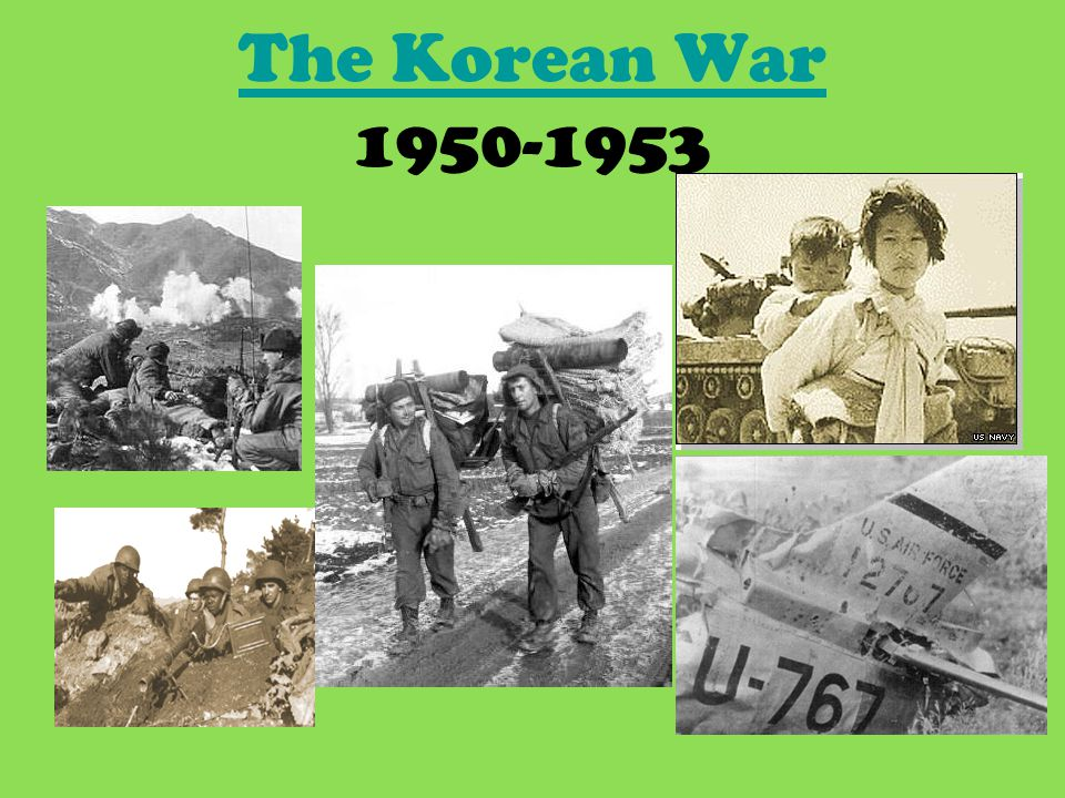 The Korean War The Korean War 1950-1953