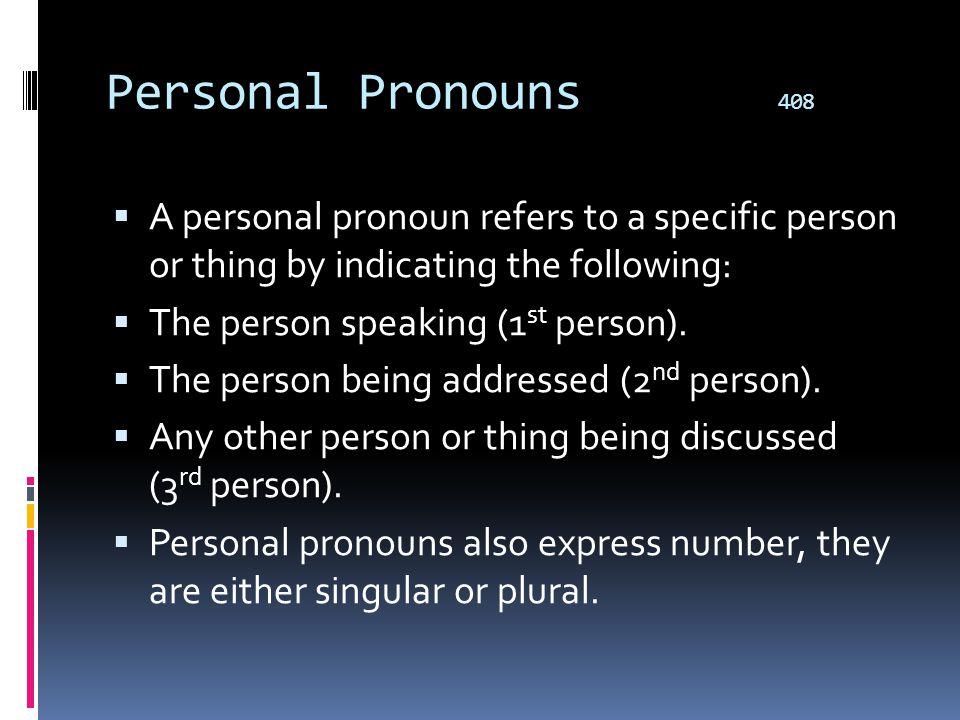 Pronouns Types  Personal  Possessive  Reflexive  Intensive  Demonstrative  Interrogative  Relative  Indefinite