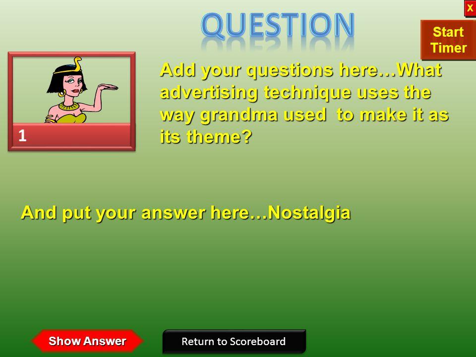 2 2 1 1 If X wins If O wins X X O O Click on person to select question XOOX Copyright © 2007 Training Games, Inc. 3 3 OX 5 5 4 4 XOOX 6 6 OX 8 8 7 7 X