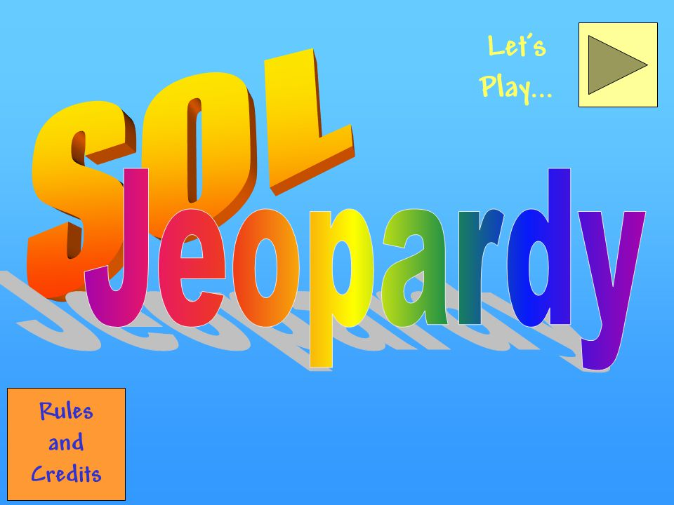 Bear-y Good! Correct! Back to Jeopardy Back to Double Jeopardy