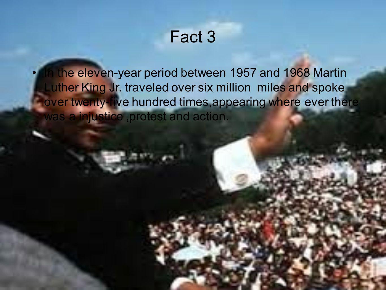 Fact 4 Martin got shot in Memphis, Tennessee.
