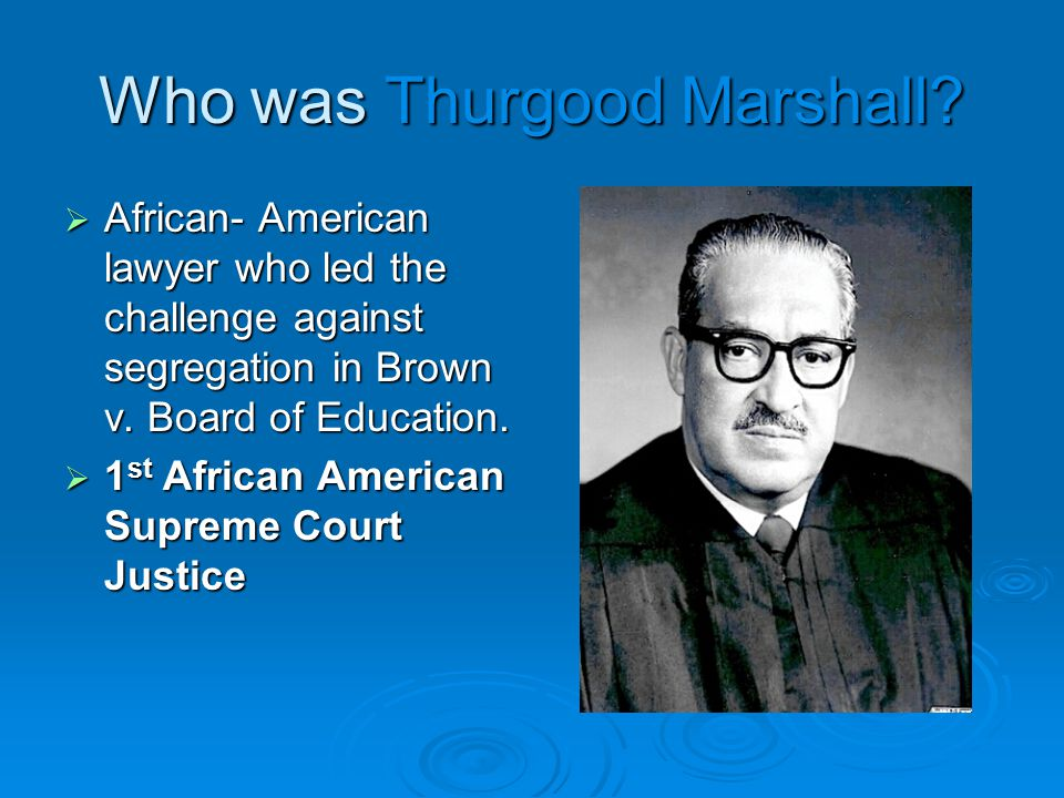 What was Brown v.Board of Education.