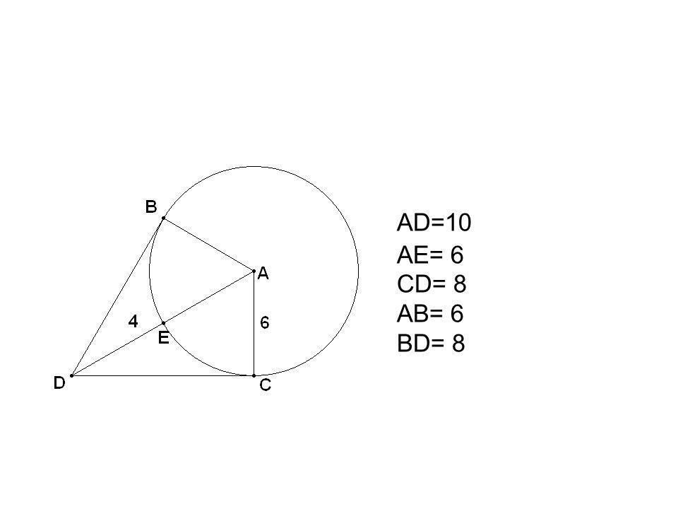 AD=10 AE= 6 CD= 8 AB= 6 BD= 8