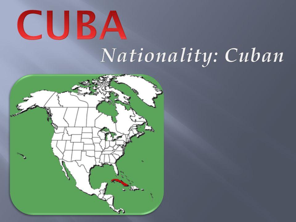  Population: 11,394,043  Currency: Cuban Pesos