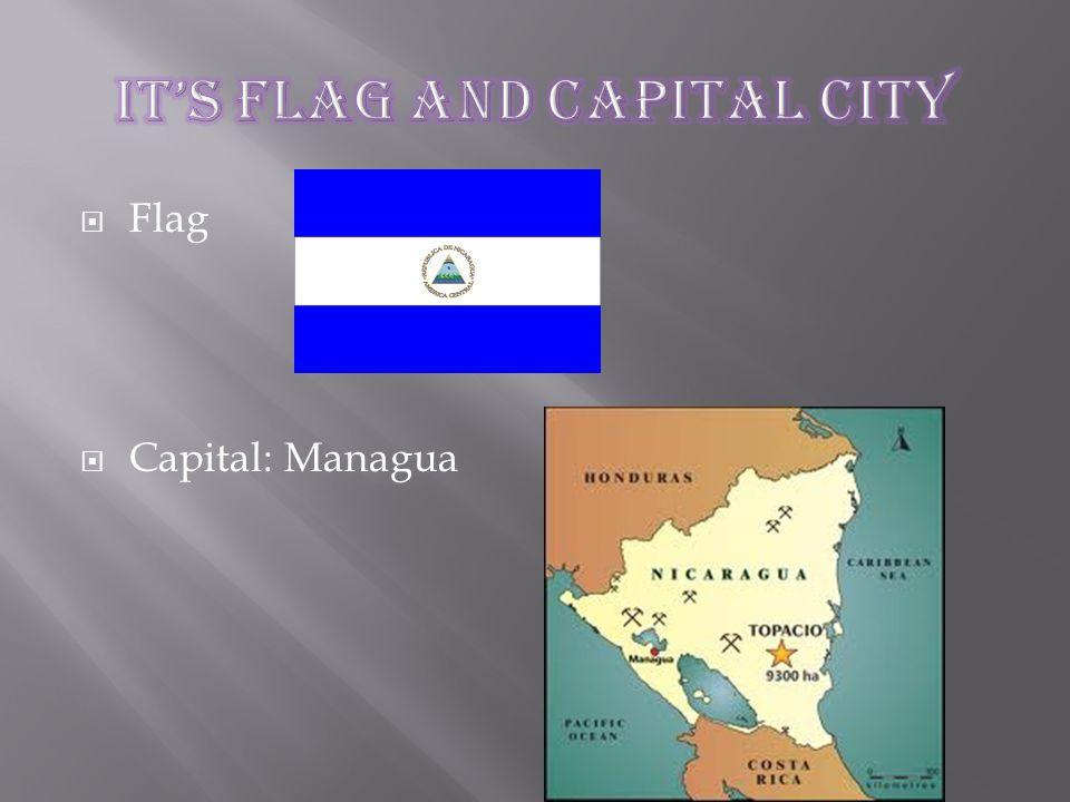  Flag  Capital: Managua