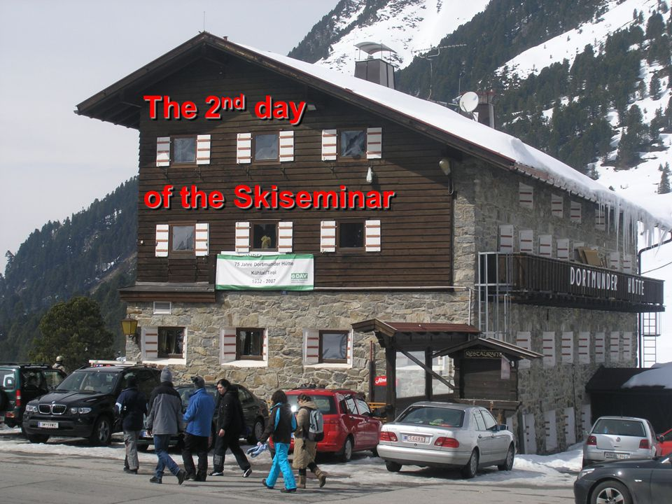 The 2 nd day of the Skiseminar