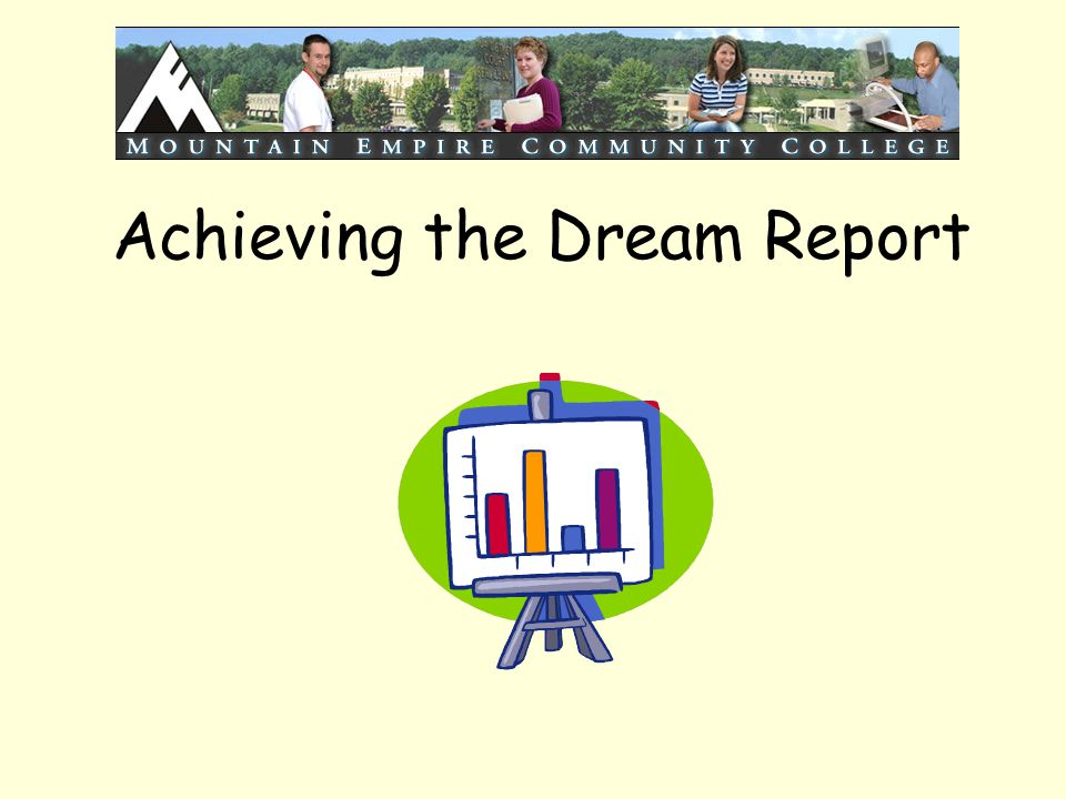 Achieving the Dream Report